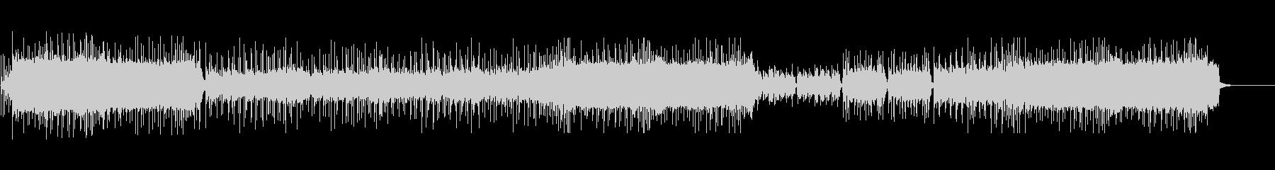 エモーショナルなギターロックの未再生の波形