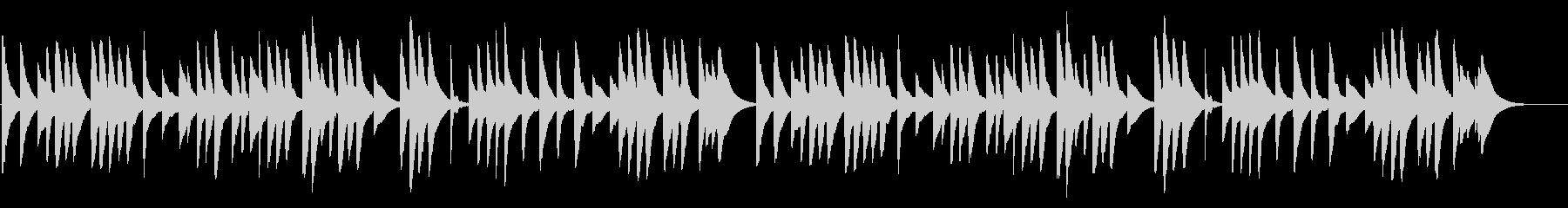 亡き王女のためのパヴァーヌ 18弁オルゴの未再生の波形