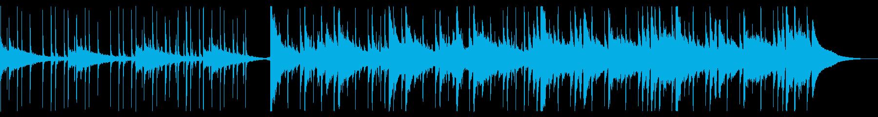 冬を感じるチルBGM_3の再生済みの波形