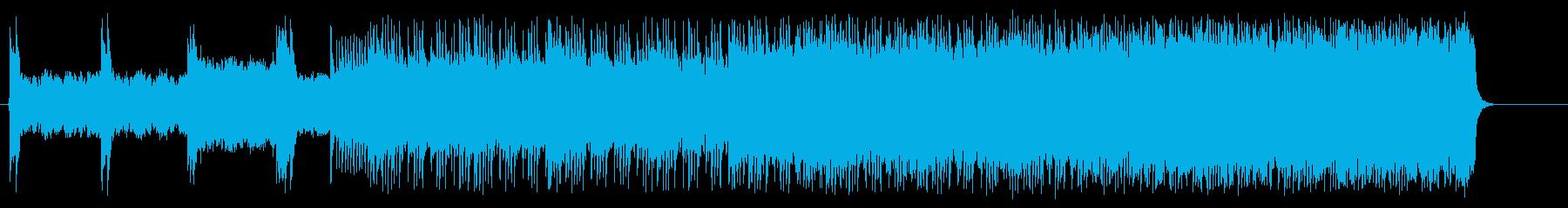 スピードとスリルのヘヴィメタルドライブの再生済みの波形