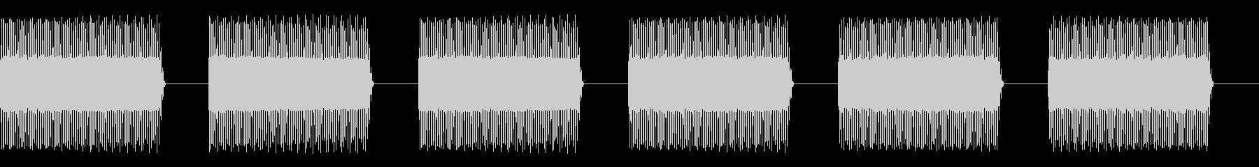 薄型電子警告バズアラームの未再生の波形