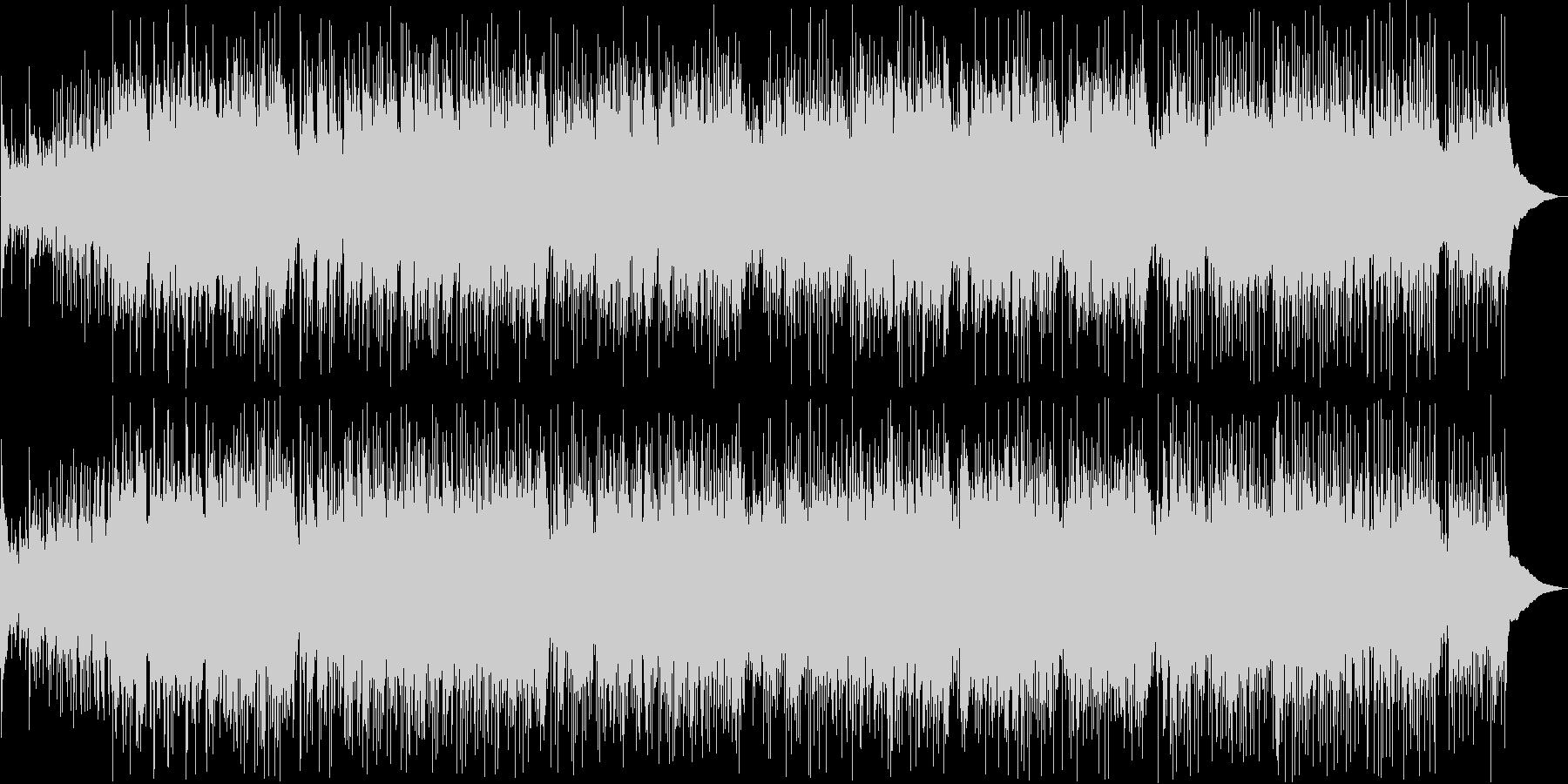 アコギの音色が耳に優しいフォークロックの未再生の波形