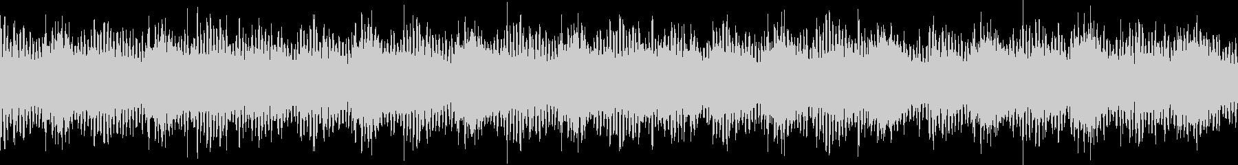 透明感のあるキラキラとしたループ音源の未再生の波形