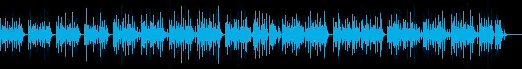 【劇伴】軽快でコミカルな日常曲の再生済みの波形