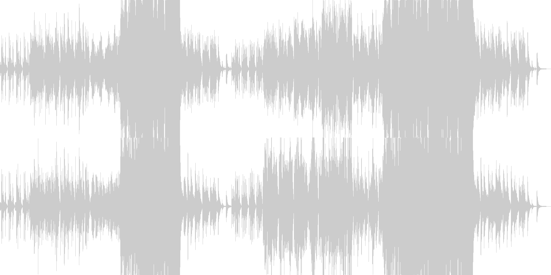 のどかで牧歌的ほのぼのオーケストラワルツの未再生の波形