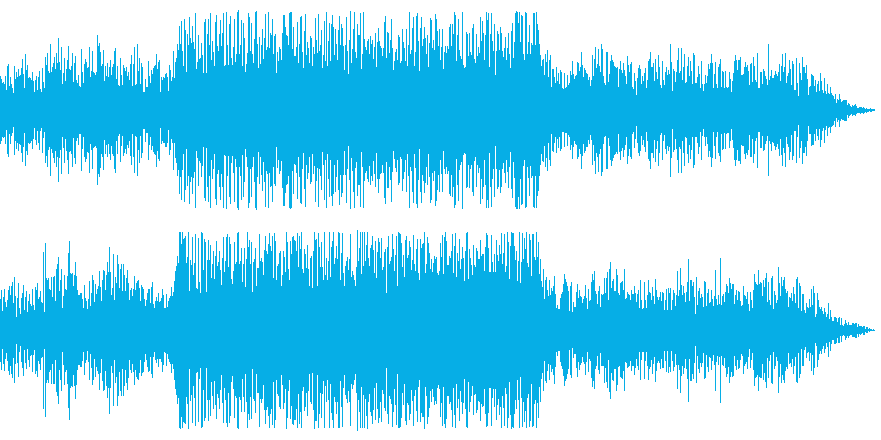 不気味/ホラー/暗いの再生済みの波形
