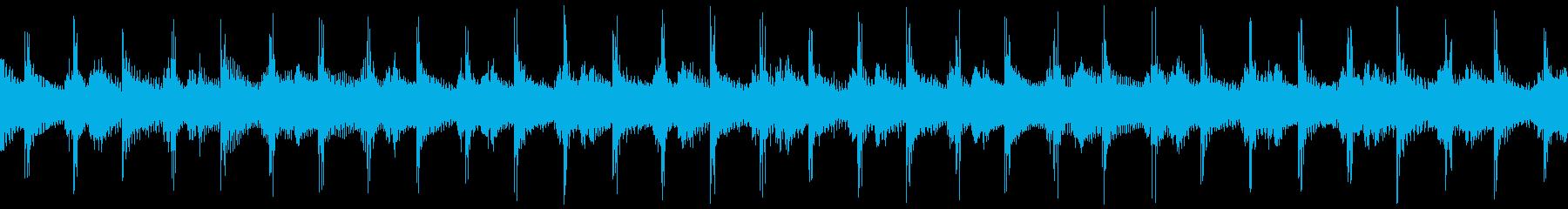 ループ/クラップ&アコースティックギターの再生済みの波形