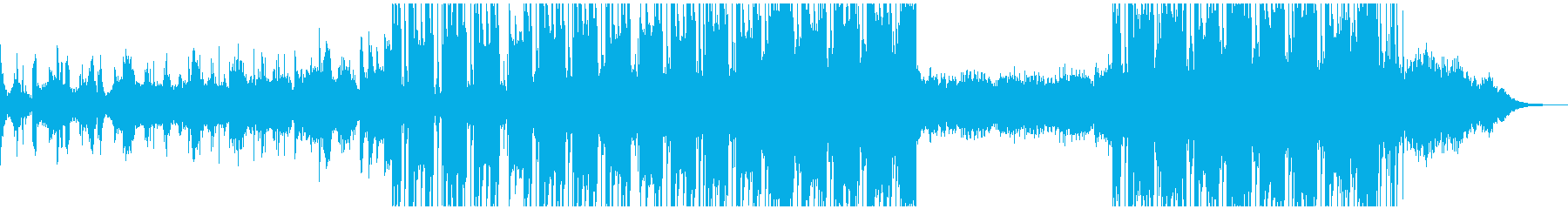 ドラム & ベース ジャングル 広...の再生済みの波形