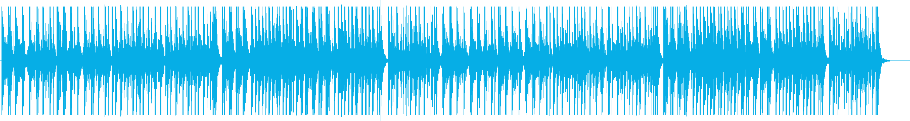 重厚感のある力強い和太鼓のリズムの再生済みの波形