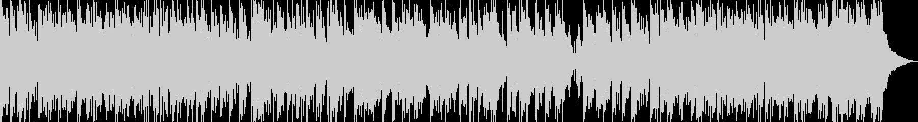 日本伝統音楽5(三味線+篳篥+和太鼓)の未再生の波形