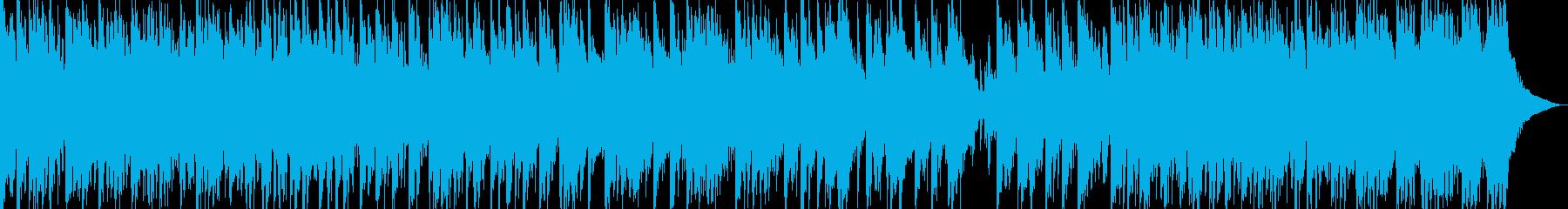 日本伝統音楽5(三味線+篳篥+和太鼓)の再生済みの波形