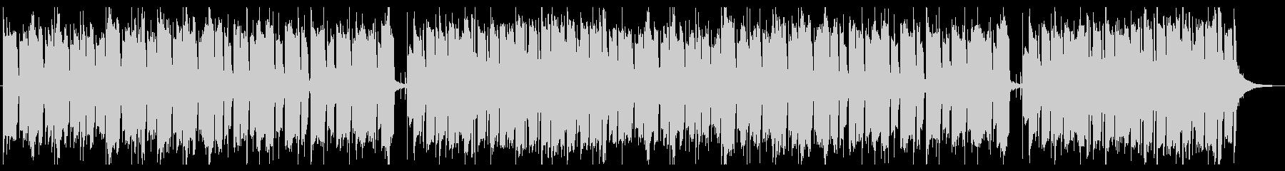 レシピ動画のBGMをイメージしたインストの未再生の波形