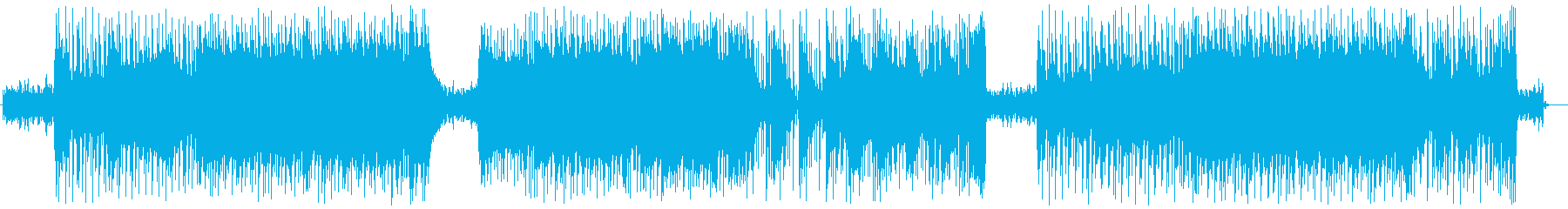 (映像向け)明るく爽やかなポップロックの再生済みの波形