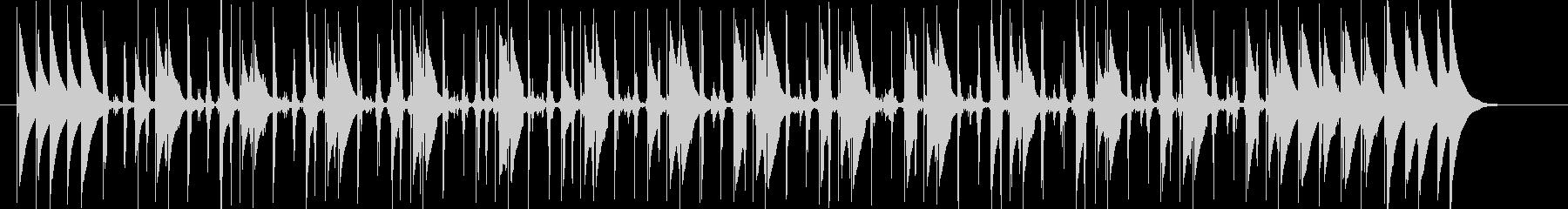 コンガの躍動するリズムLa Bomba4の未再生の波形