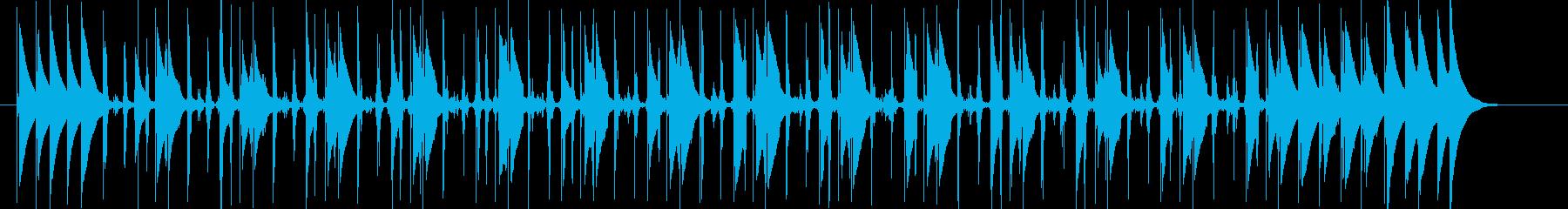 コンガの躍動するリズムLa Bomba4の再生済みの波形