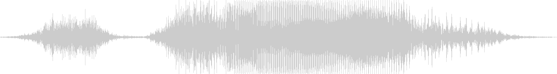 スチール!の未再生の波形