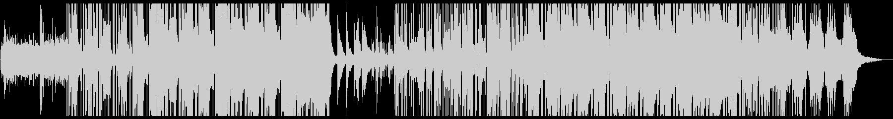 爽やかなヒップホップの未再生の波形