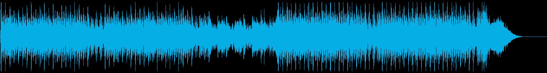 気高さと疾走感を描く合唱曲の再生済みの波形