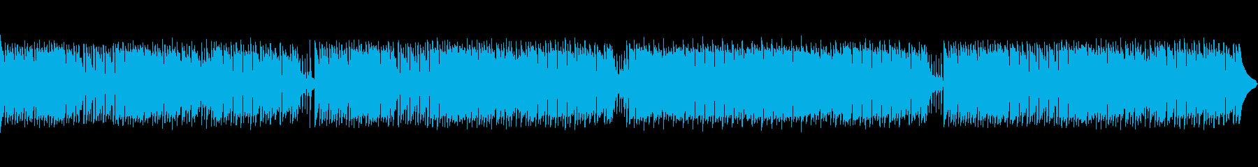 まったりほのぼのとしたポップスの再生済みの波形