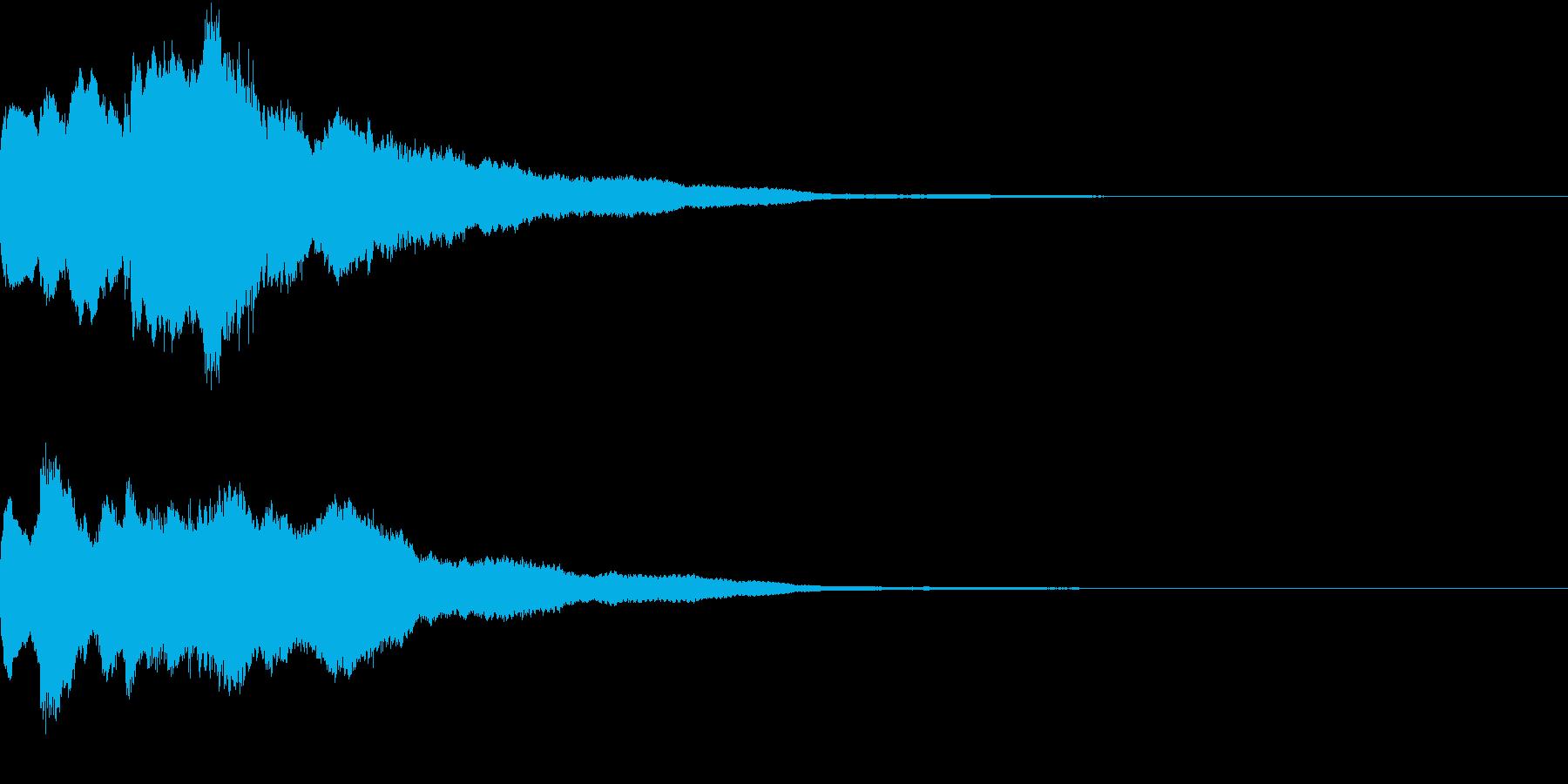 クリスマス ジングルベル キラキラ 11の再生済みの波形