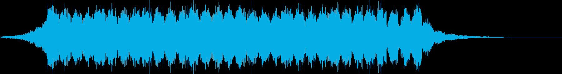 感動的・CM・企業VP・ピアノ・ジングルの再生済みの波形