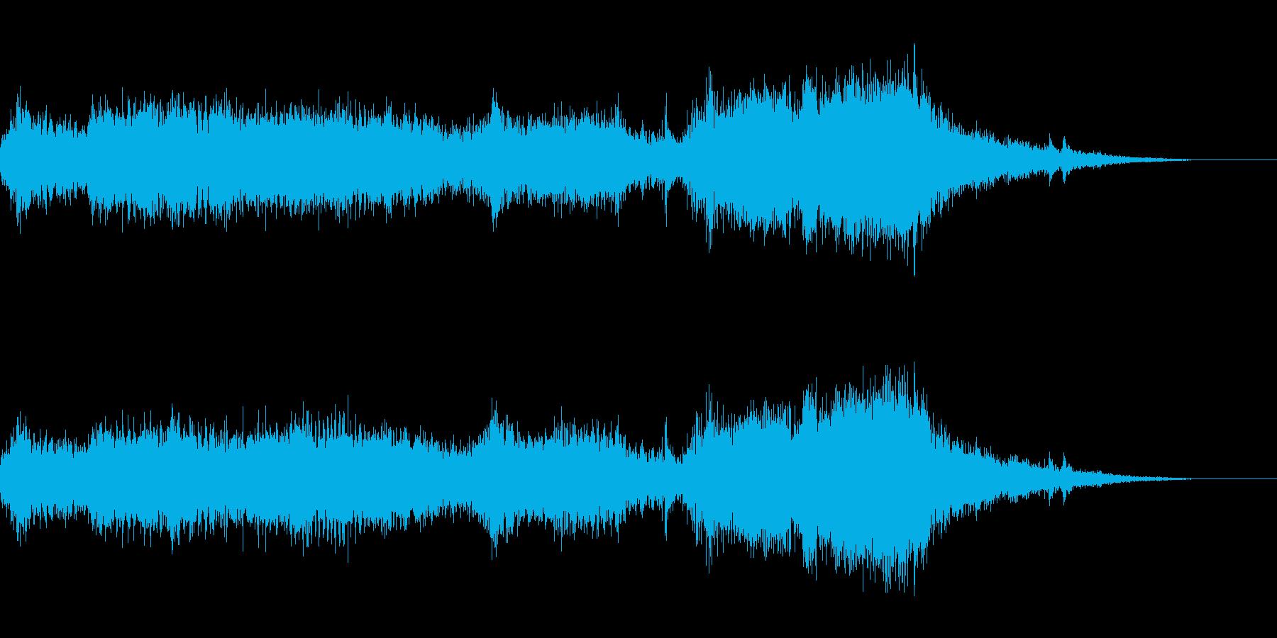 ブウォーーーーーン(エンジン音)の再生済みの波形