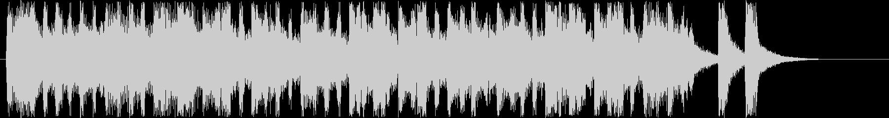 メルヘンなシンセサウンド短めの未再生の波形