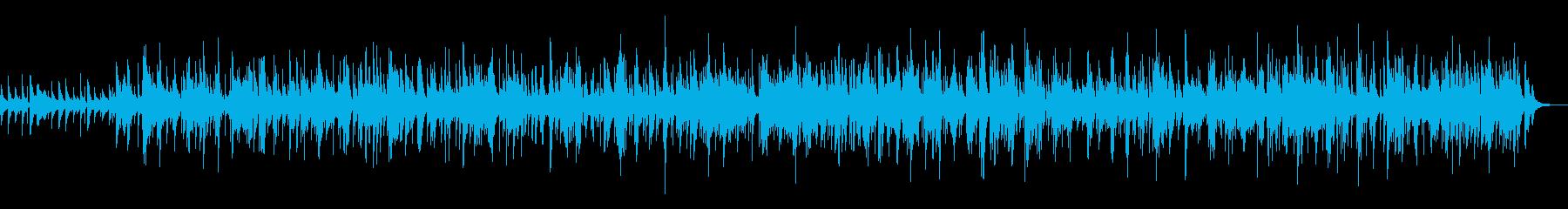 夏から秋への季節の移ろいアコギBGMの再生済みの波形