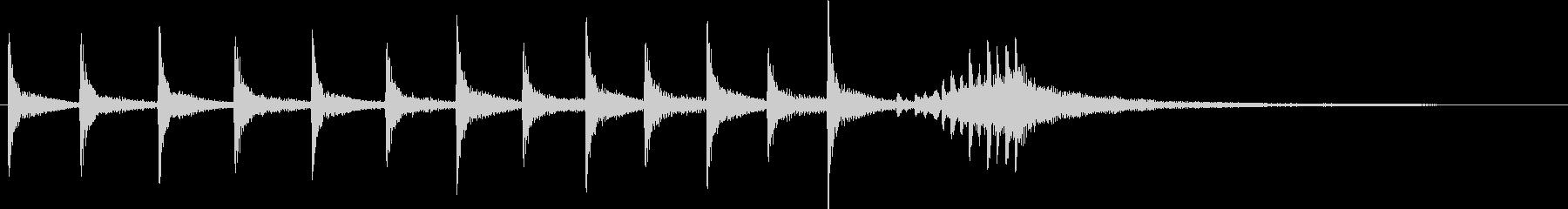 ティンパニファンファーレ:ゲームシ...の未再生の波形