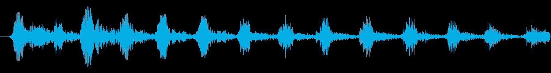 【ホラー/悪魔/声/ガハハハ/BOSS】の再生済みの波形