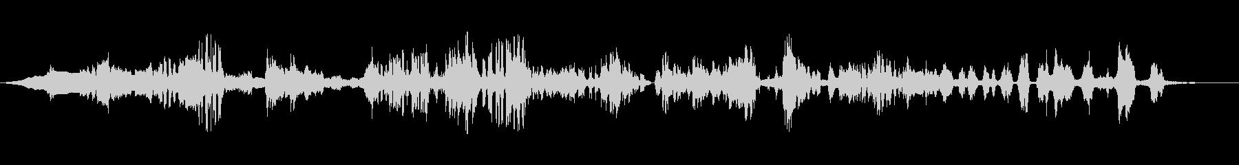高音質バイノーラル録音デジタルモスキートの未再生の波形