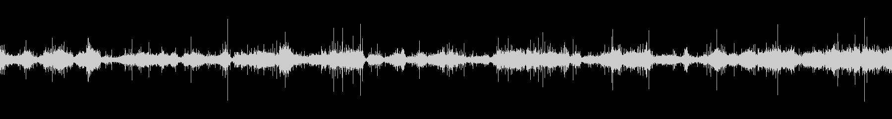 環境音「サラサラ…」3 静かな海(?!)の未再生の波形