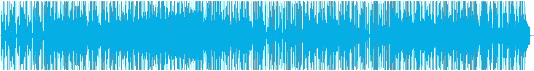情熱的なラテン系フュージョンの再生済みの波形