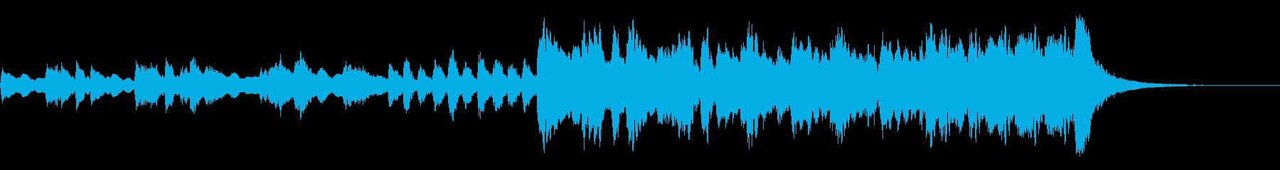 チャイコフスキー 激しいイントロジングルの再生済みの波形