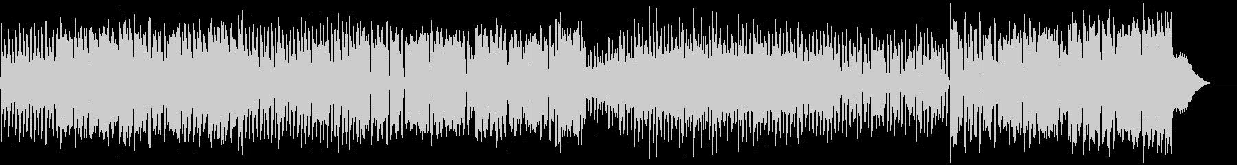 ジャパニーズなポップカルチャーBGMの未再生の波形