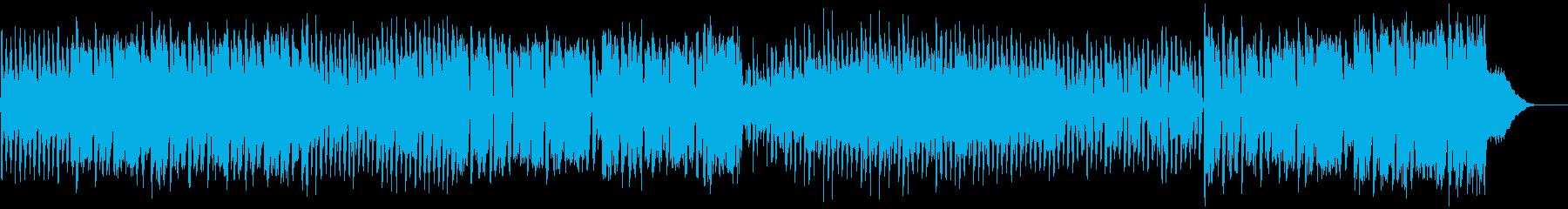 ジャパニーズなポップカルチャーBGMの再生済みの波形