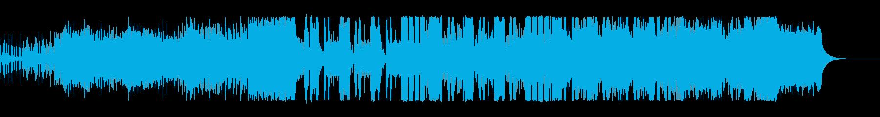 爽やかキラキラなテクノポップの再生済みの波形