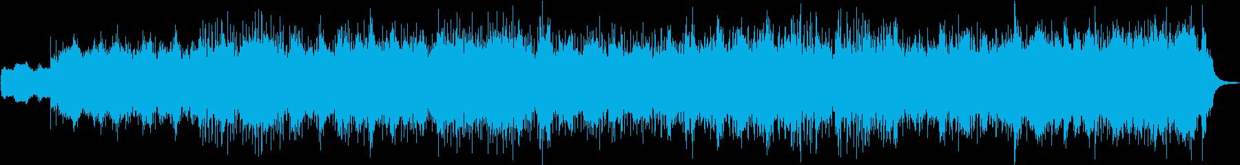 独特なリズムでスピード感あるメロディーの再生済みの波形