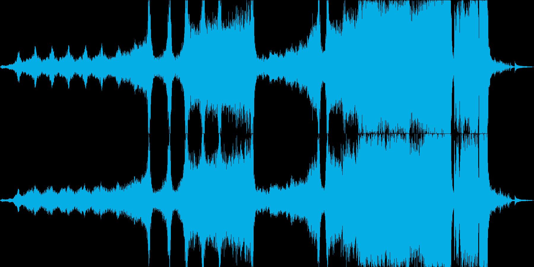 重いエピックオーケストラと天才 タムなしの再生済みの波形