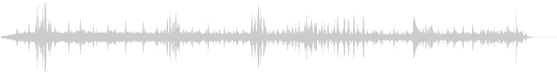 バーズアンドホースパークの未再生の波形