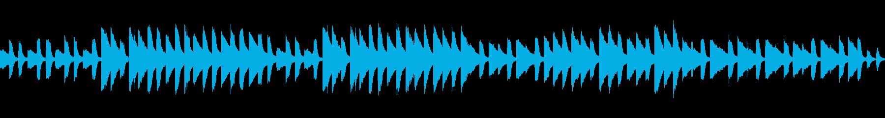 ピアノとオルゴールのワルツの再生済みの波形