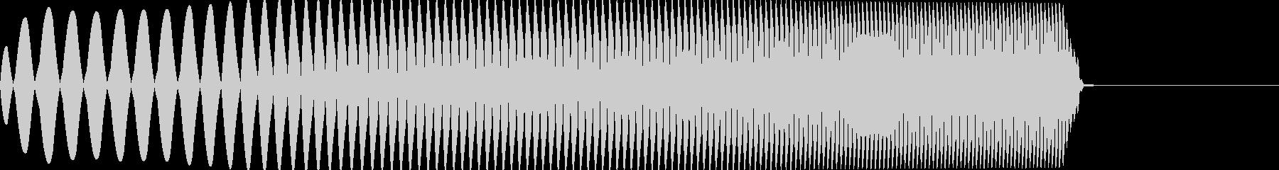 アナログFX 6の未再生の波形
