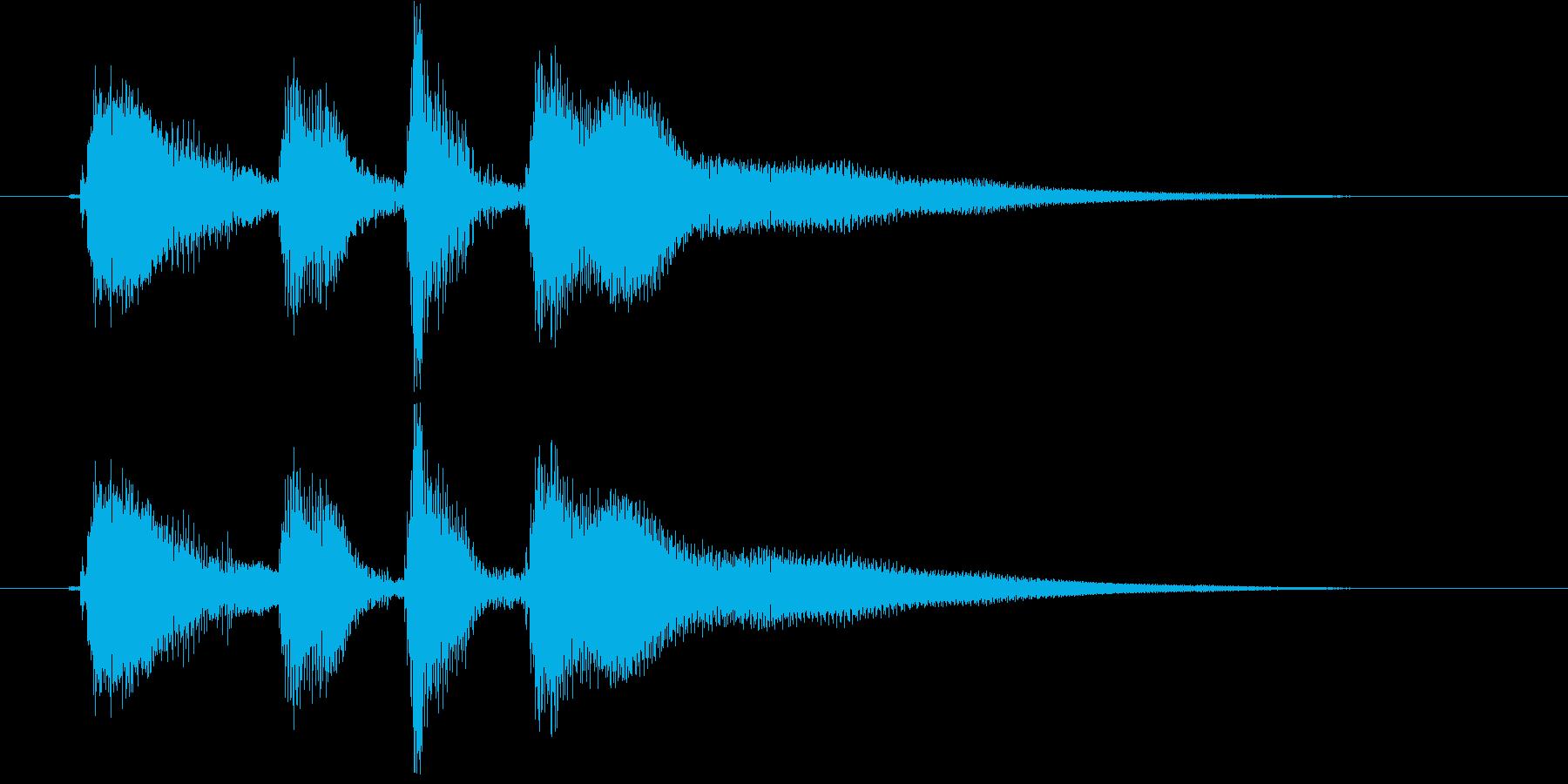 アコギ 爽やかで力強いコード 切り替えの再生済みの波形