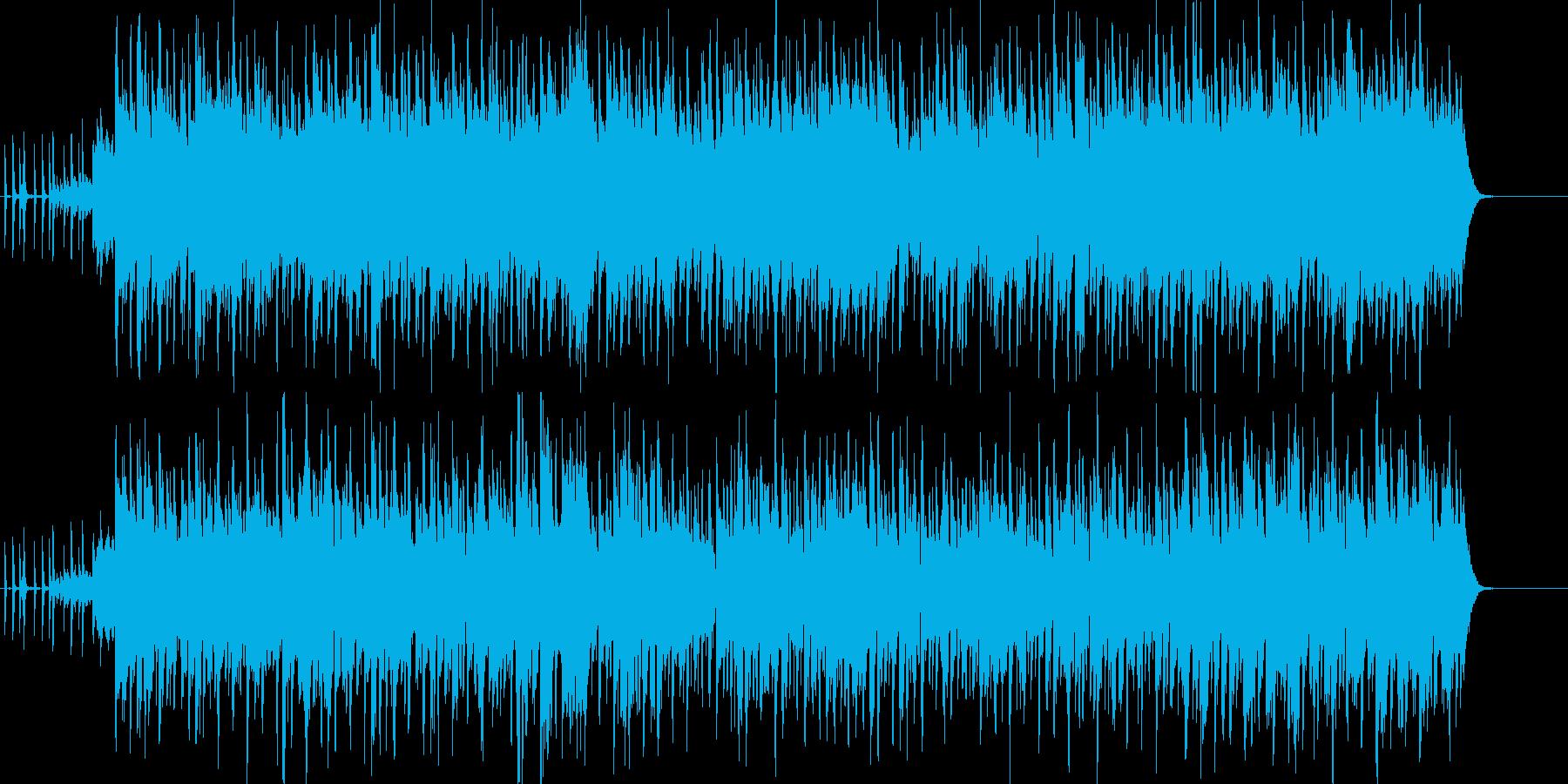 オルガンメインの軽快で爽やかなポップスの再生済みの波形