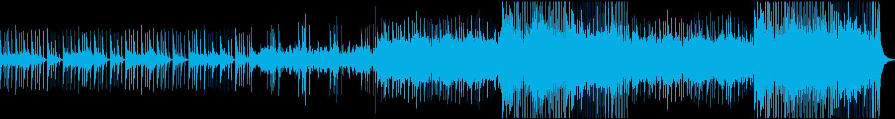 中東の楽器を使った オリエンタルの再生済みの波形