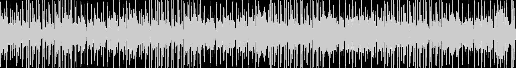 可愛らしく優しいループBGMの未再生の波形