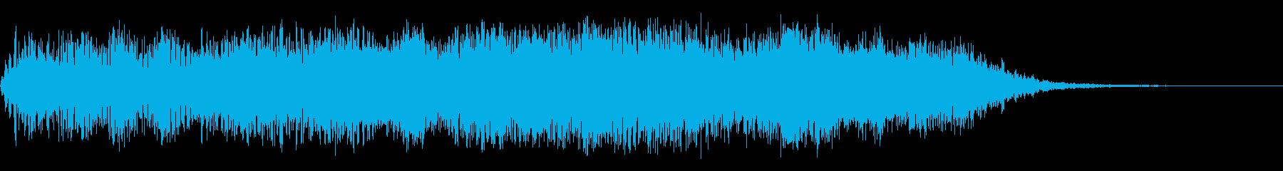 原因不明の現象1の再生済みの波形