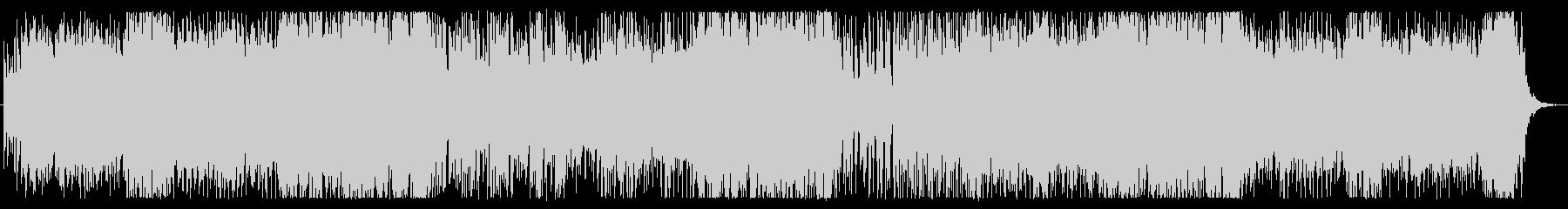 軽快なシンセ、インストの未再生の波形