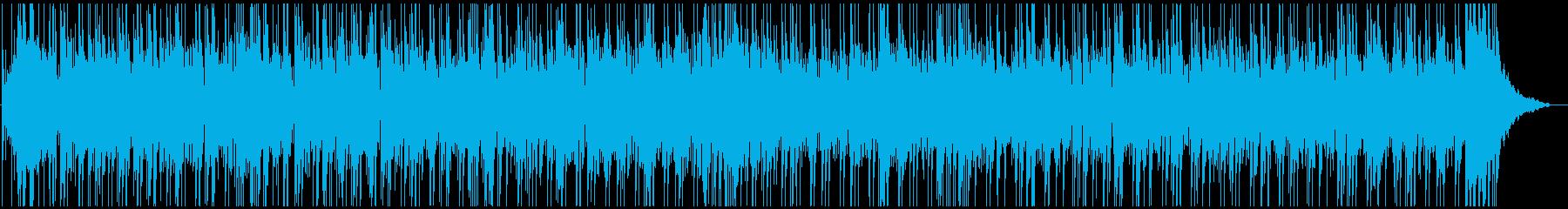 疾走感あふれるポップフュージョンの再生済みの波形