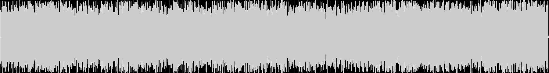 疾走感のあるオーケストラループBGMの未再生の波形
